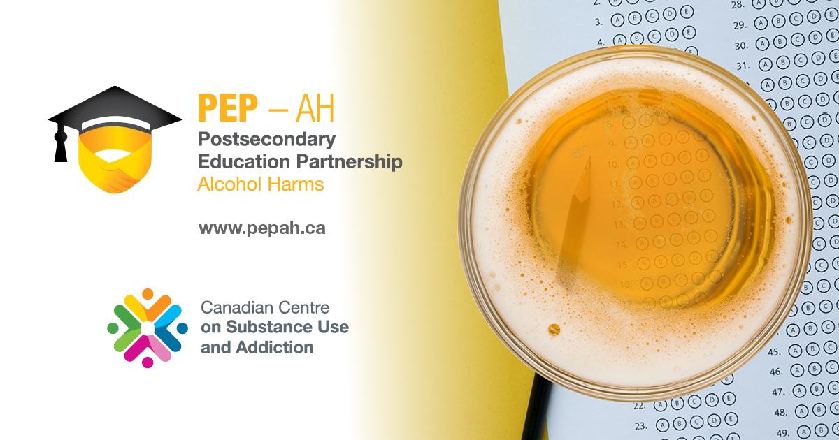PEP-AH site logo and CCSA logo.